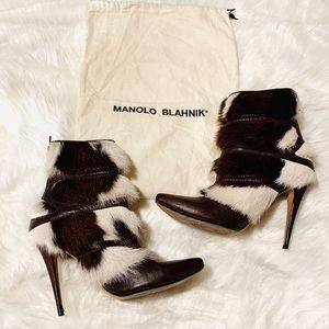 Manolo Blahnik Booties